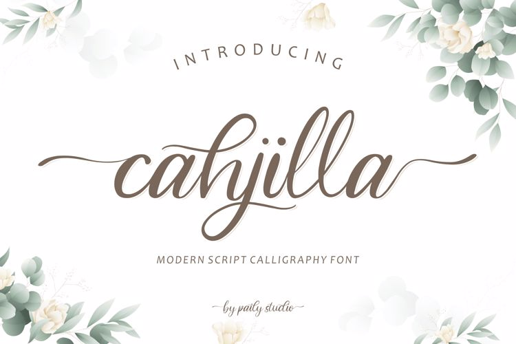cahjilla Font
