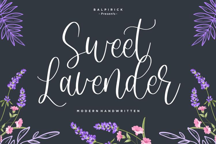 Sweet Lavender Font