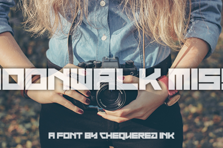 Moonwalk Miss Font
