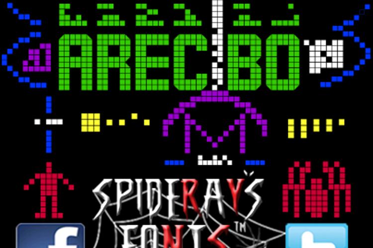 ARECIBO MESSAGE Font