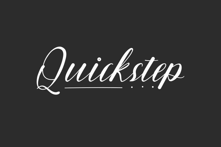 Quickstep Font