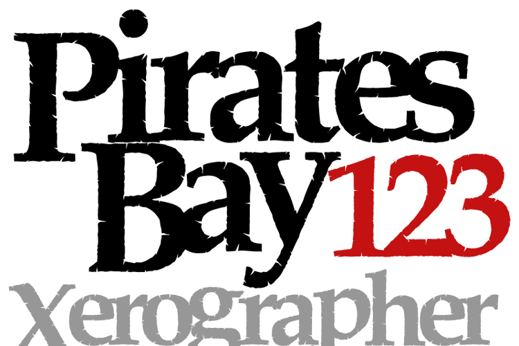 PiratesBay Font