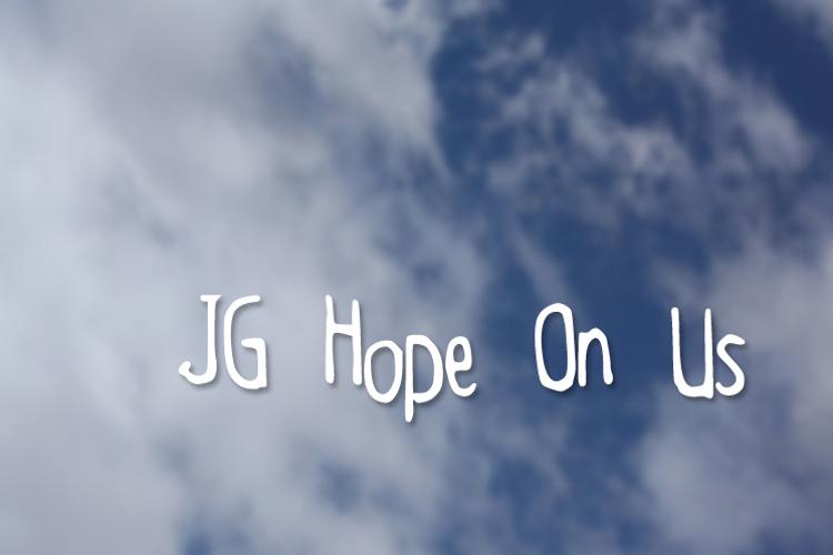 JGHopeOnUs Font