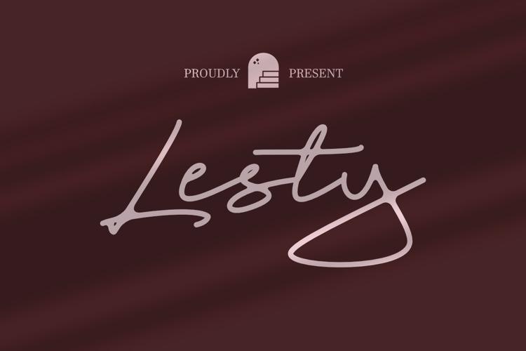 Lesty Font