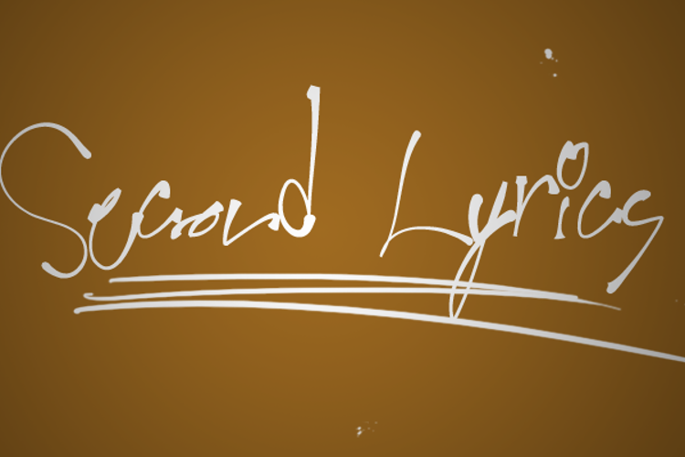 Second Lyrics Font