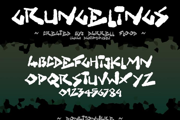 Grungelings Font