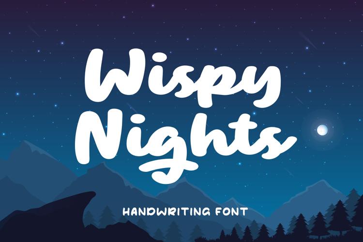Wispy Night Font