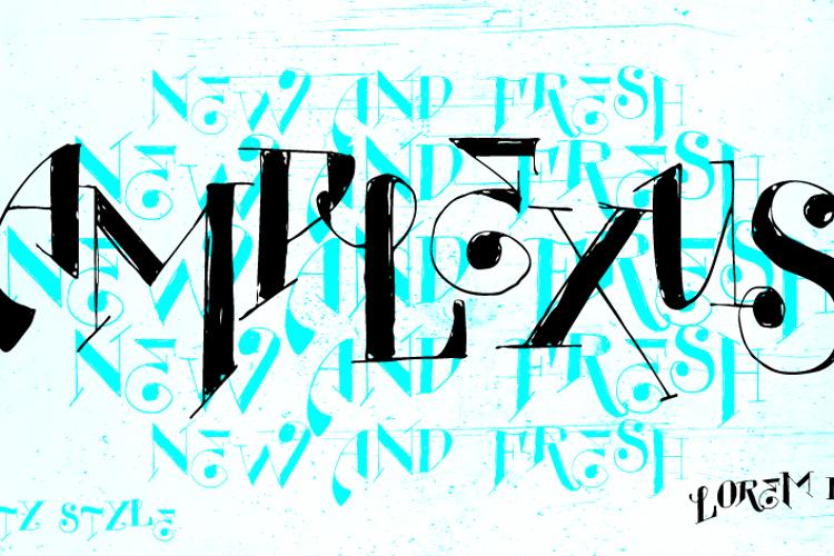 Vtks Amplexus Font