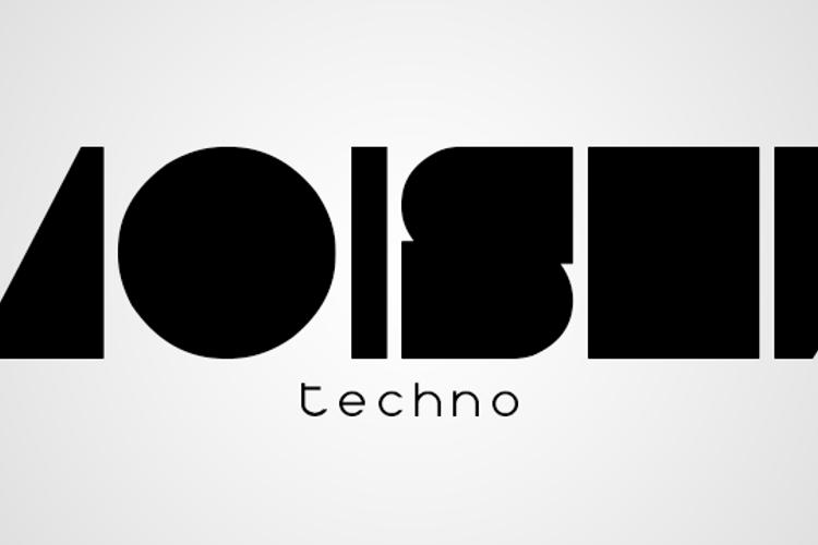 Moiser techno Font
