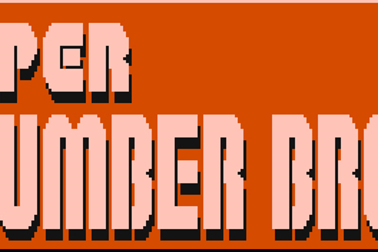 Super Plumber Brothers Font
