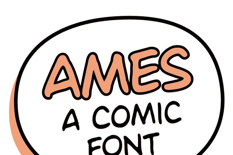 Ames Font