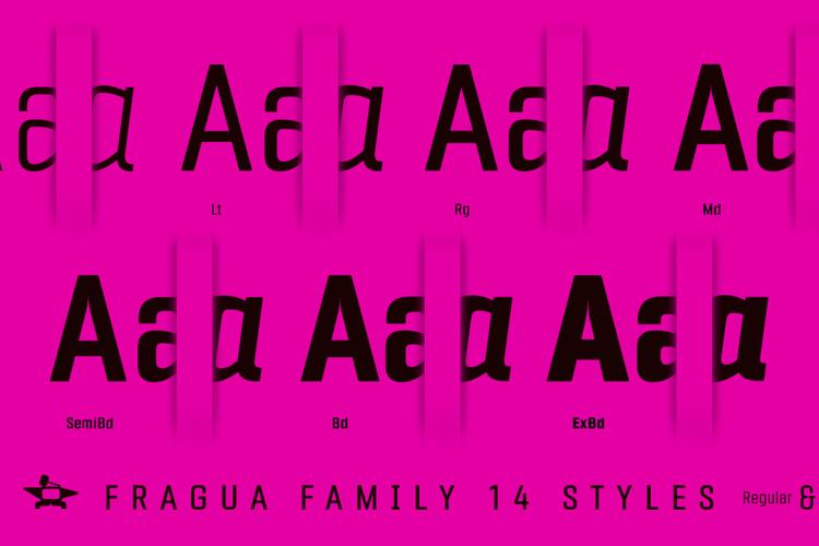 Fragua Font