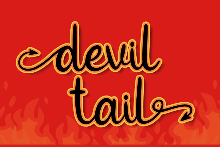 Devil Tail Font