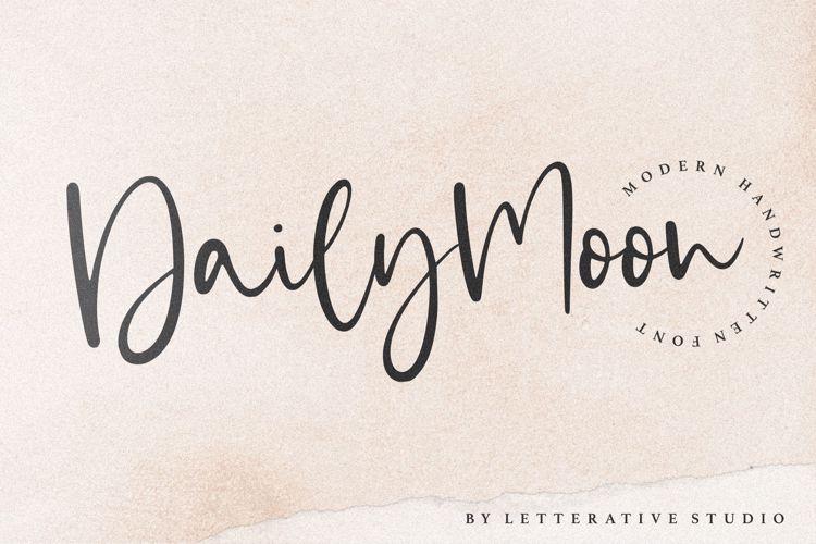 Dailymoon Font