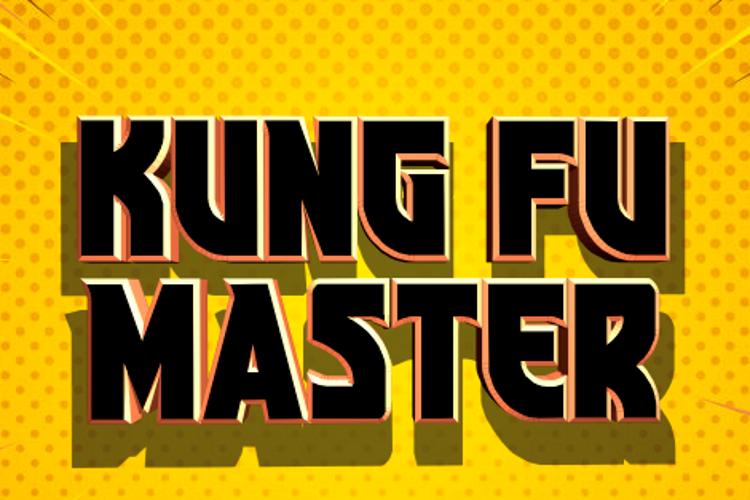 Kung-Fu Master Font