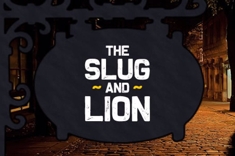 The Slug and Lion Font