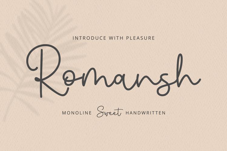 Romansh Font