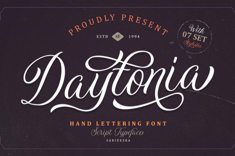 Daytonia Font