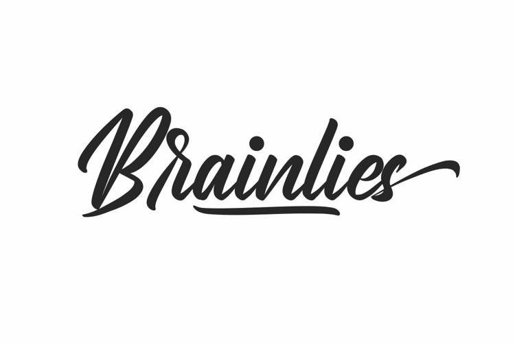 Brainlies Font
