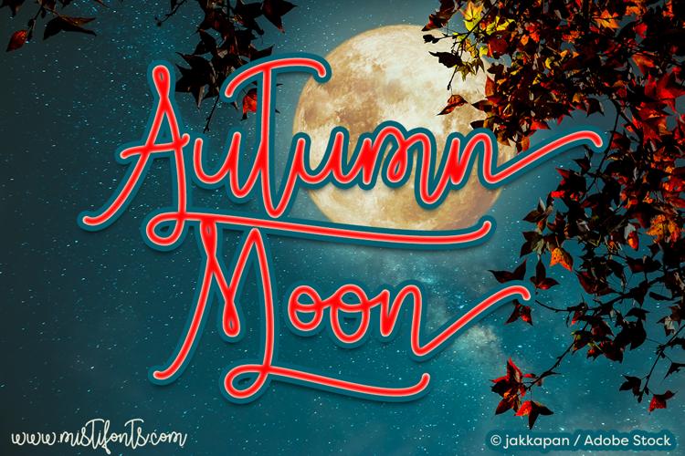 Autumn Moon Font