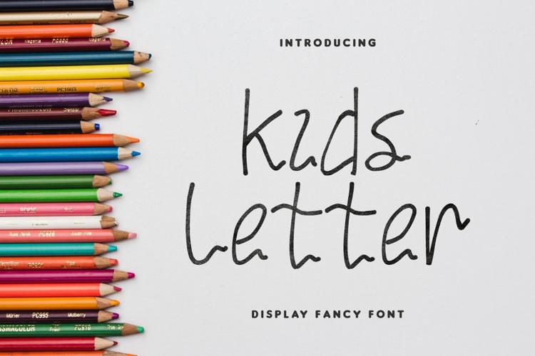 Kids Letter Font
