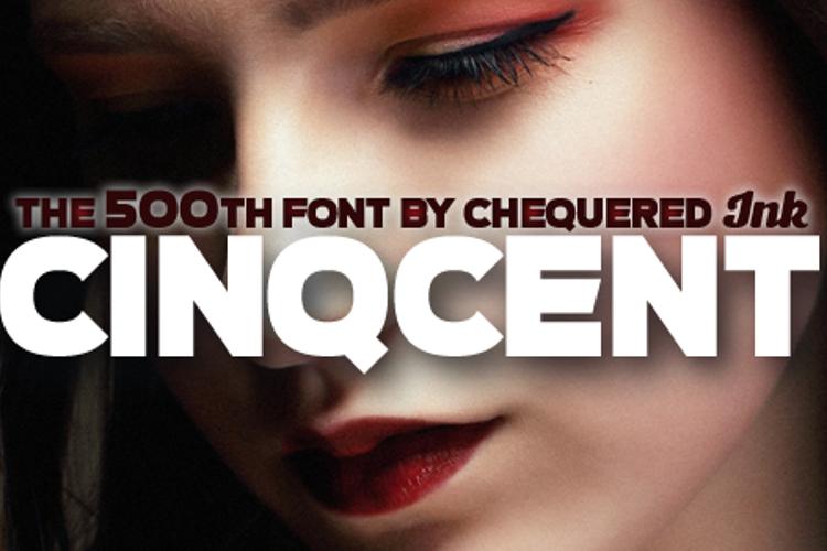 Cinqcent Font