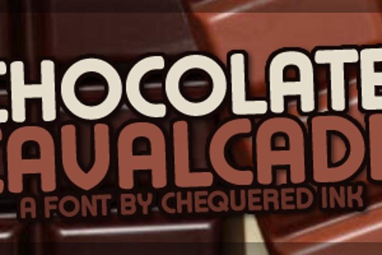 Chocolate Cavalcade Font