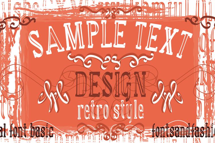 manual font basic