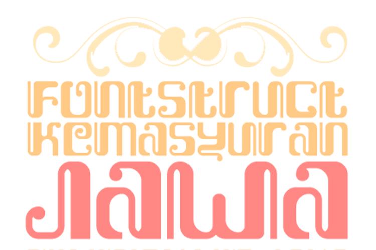 Kemasyuran Jawa Font