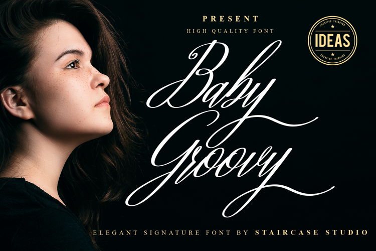 Baby Groovy Font