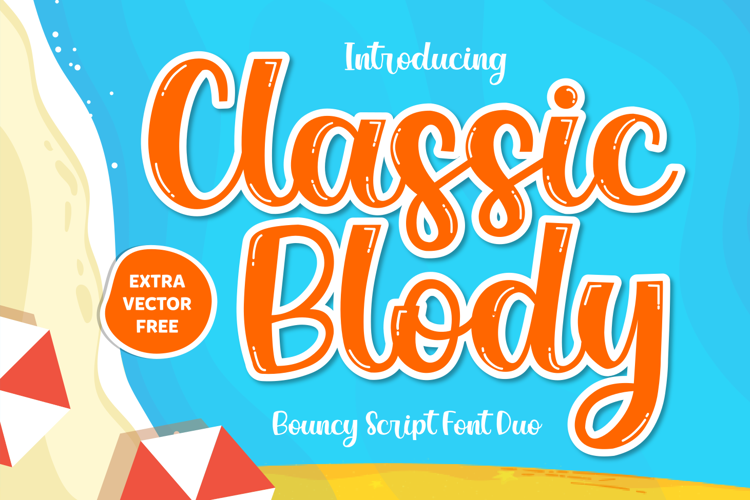 Classic Blody Solid Font