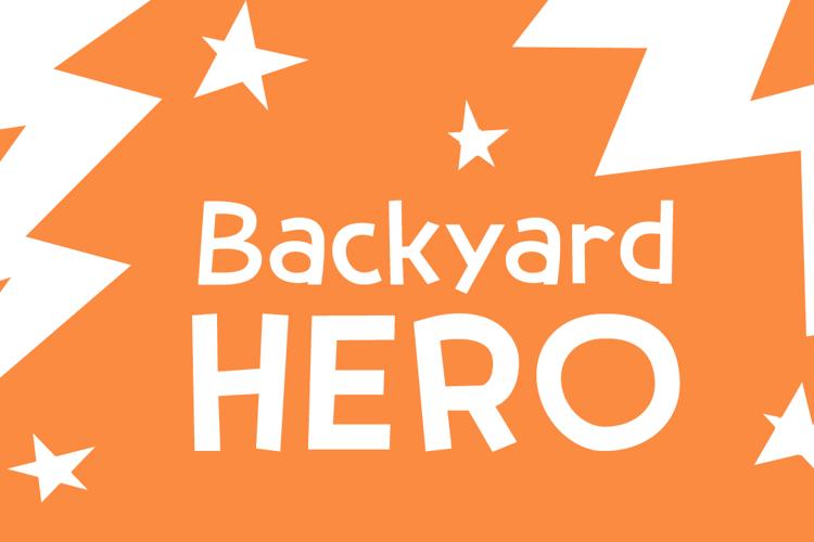 Backyard Hero DEMO Font