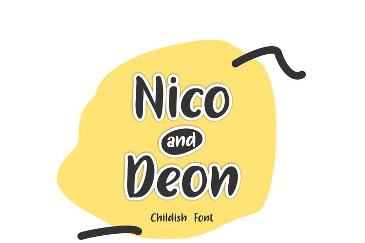 Nico and Deon Font