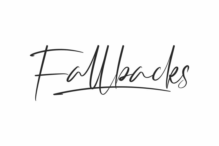 Fallbacks Font
