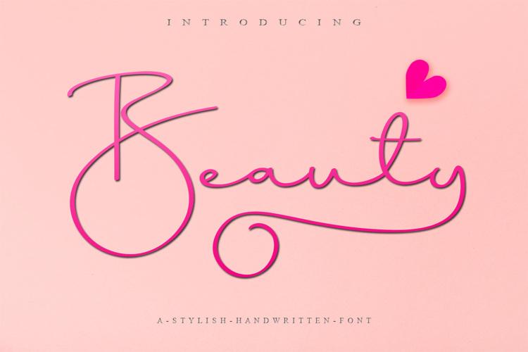 Beauty Dream Font