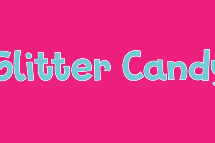Glitter Candy DEMO Font