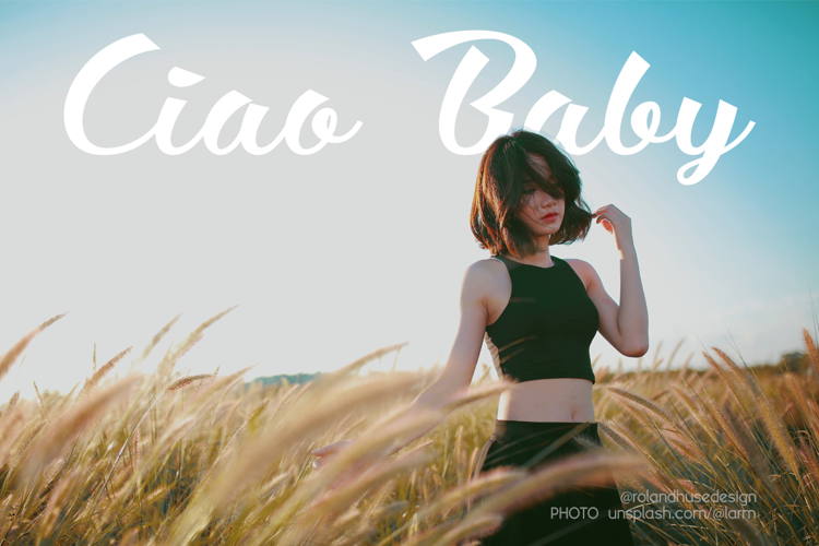 Ciao Baby Font