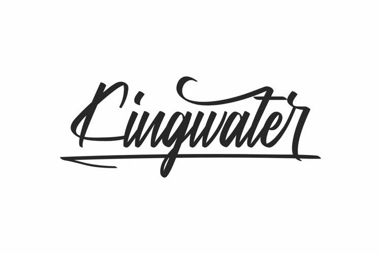 Kingwater Font