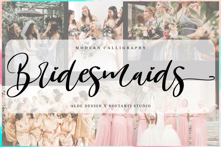 Bridesmaids Font