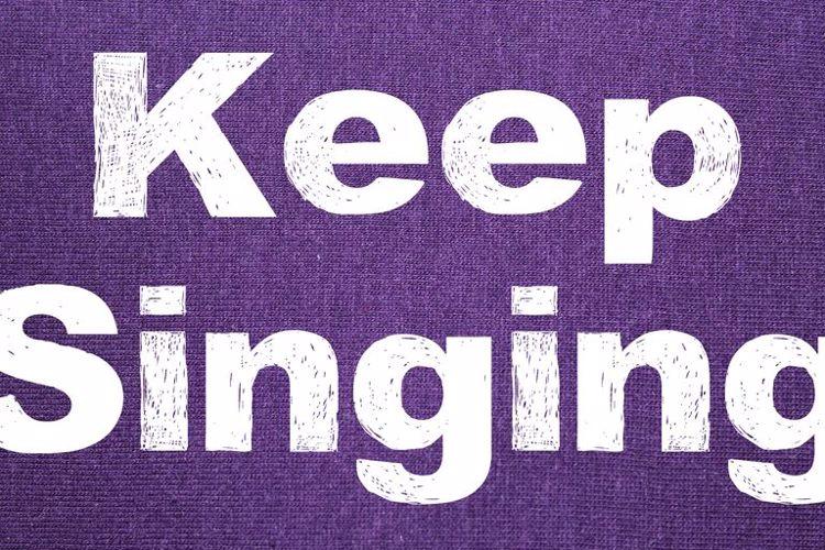 Keep Singing Font