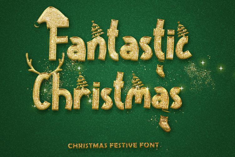 Fantastic Christmas Font