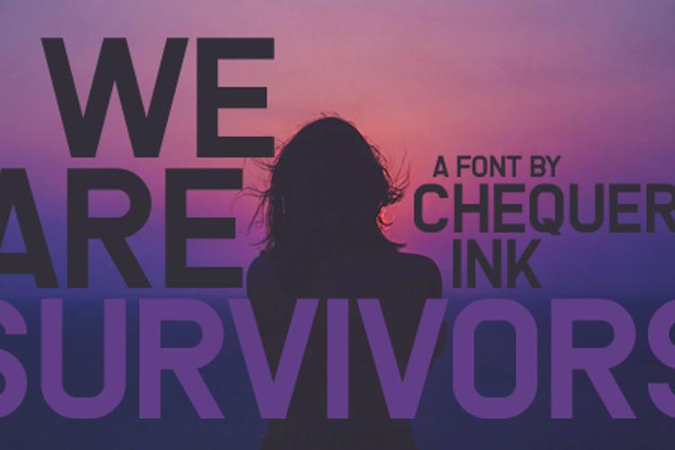 We Are Survivors Font