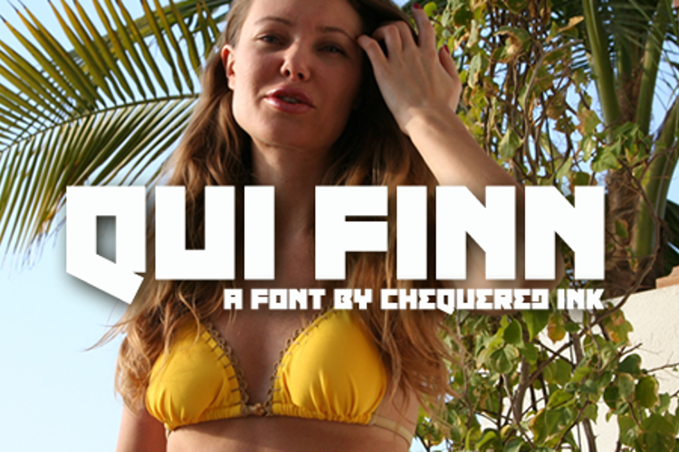Qui Finn Font