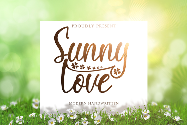 Sunny Love Font