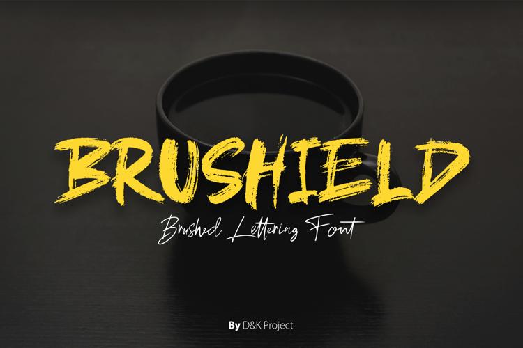 brushield Font