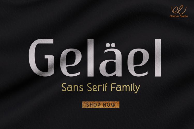 Gelael Font