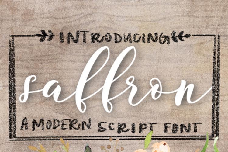 Saffron Font