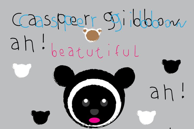 casper gibbon Font