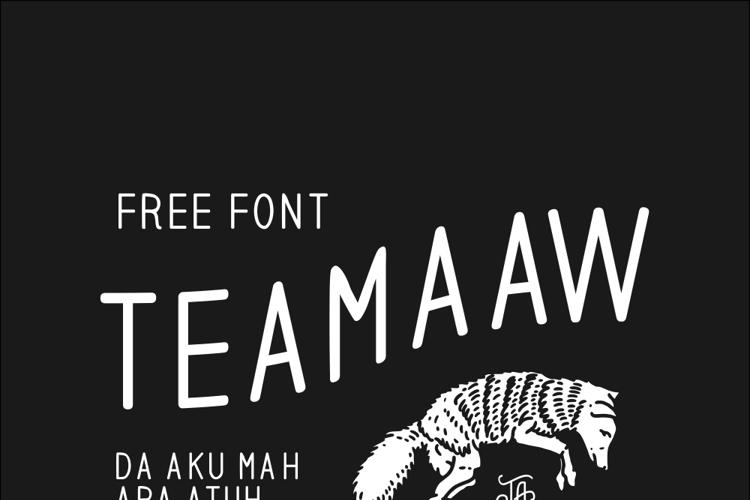 teamaaw Font