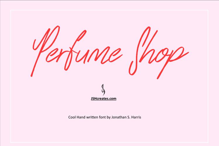 Perfume Shop Font